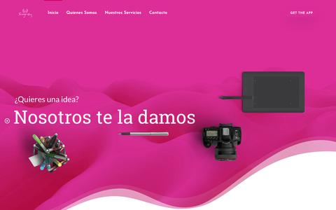 Screenshot of Home Page sugrey.com - Sugrey – Ideas de Alto Vuelo - captured Nov. 11, 2018