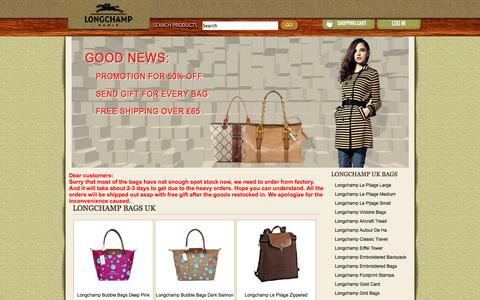 Screenshot of Home Page vico24.com - Cheap Longchamp UK, Longchamp Bags UK Sale Online - captured Sept. 19, 2014