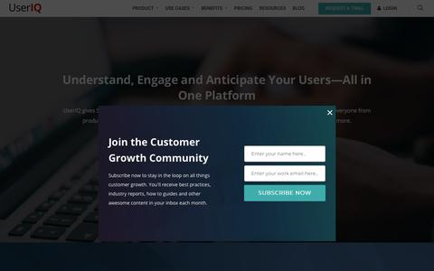 UserIQ - The Customer Growth Platform™