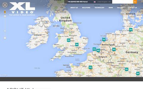 Screenshot of Contact Page xlvideo.tv captured Sept. 30, 2014