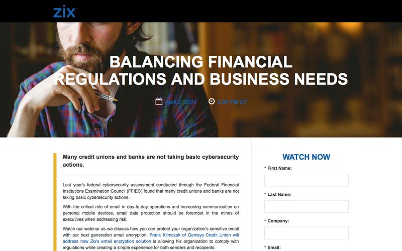 Webinar | Balancing Financial Regulations and Business Needs