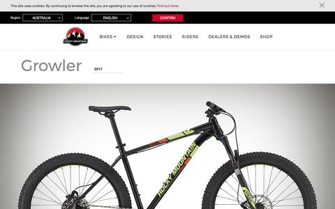 Growler | Rocky Mountain Bicycles