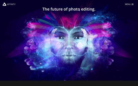 Affinity Photo - Professional image editing software