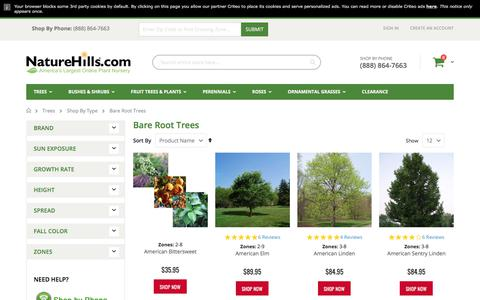 Bare Root Trees For Sale | Nature Hills Nursery
