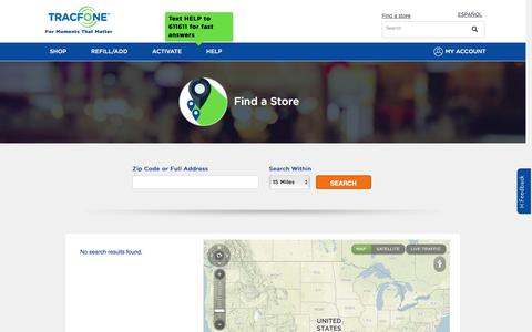 Find A Store | TracFone Wireless