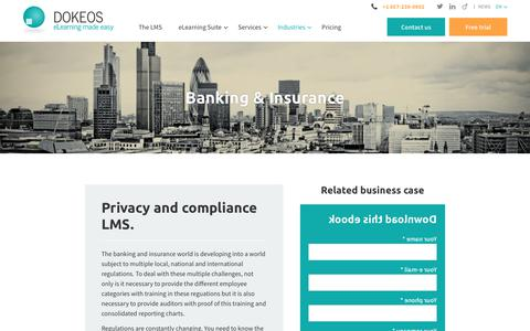 Banking & Insurance - Dokeos