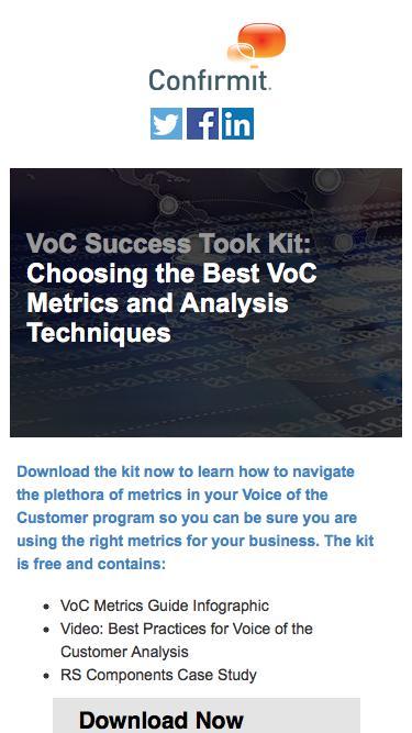 VoC Success Tool Kit: Choosing the Best VoC Metrics and Analysis Techniques