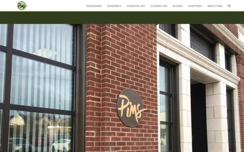 Screenshot of Home Page pims.edu - Pittsburgh Institute of Mortuary Science – Best Mortuary Science Programs/ Leading the Profession - captured Aug. 3, 2017