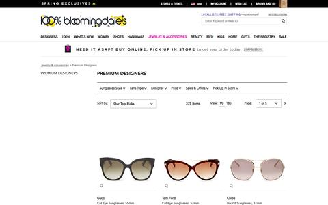 Women's Luxury Sunglasses - Bloomingdale's