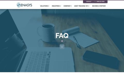 Screenshot of FAQ Page enasys-usa.com - FAQ | Answers to Your Questions about Enasys Systems - captured Sept. 28, 2018