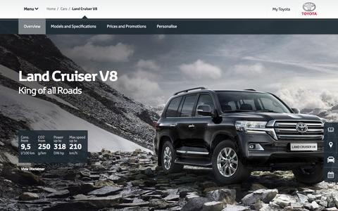 Land Cruiser V8 Overview & Features | Diesel - Toyota Europe