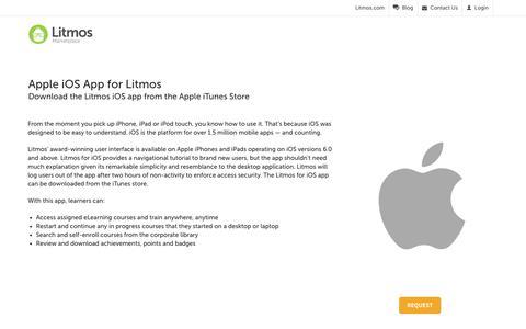 Apple iOS App - Litmos