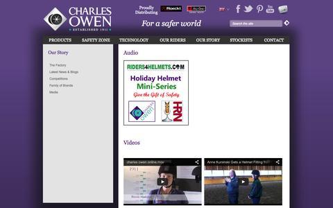 Screenshot of Press Page charlesowen.com - | Charles Owen & Co (Bow) Ltd - captured Sept. 29, 2014