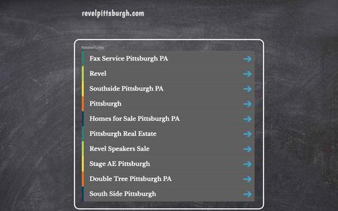 revelpittsburgh.com