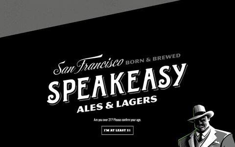 Screenshot of Press Page goodbeer.com - Media - Speakeasy Ales & Lagers - captured Nov. 17, 2018