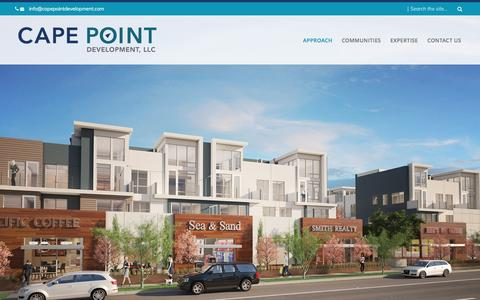 Screenshot of Home Page capepointdev.com - Cape Point Development - captured May 13, 2017