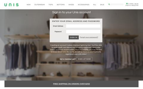 Login Pages on Shopify | Website Inspiration and Examples