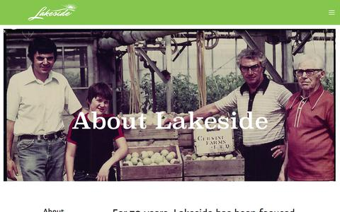 Company — Lakeside Produce