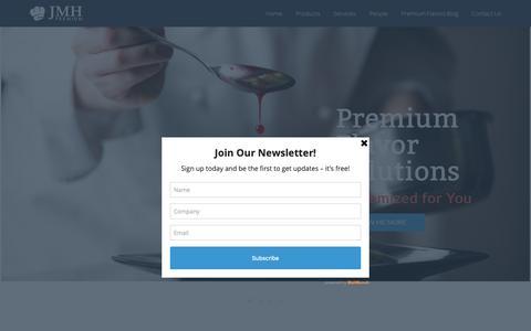 Screenshot of Home Page jmhpremium.com - Home ⋆ JMH Premium - captured Oct. 1, 2018