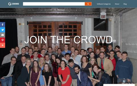 Screenshot of Jobs Page g2crowd.com - Careers at G2 Crowd - captured Feb. 1, 2017