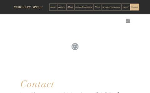 Screenshot of Contact Page visionarygroup.com.pk - Visionary Group | Contact - captured Feb. 15, 2019