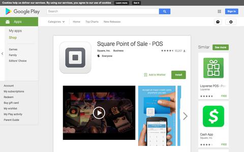 Square Point of Sale - POS - Android Apps on Google Play