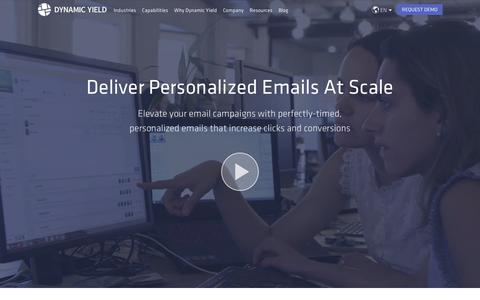 Deliver Personalized Emails & In-Mail Product Recommendations