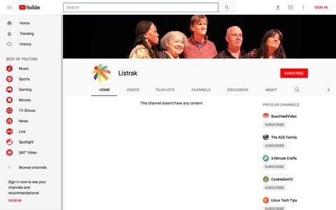 Listrak - YouTube - YouTube