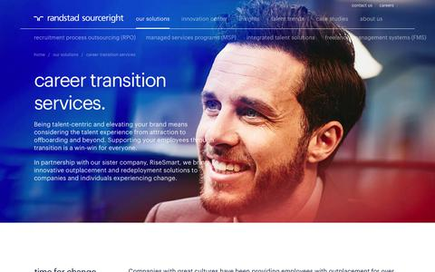 Global Outplacement & Re-Deployment Solutions | Randstad Sourceright