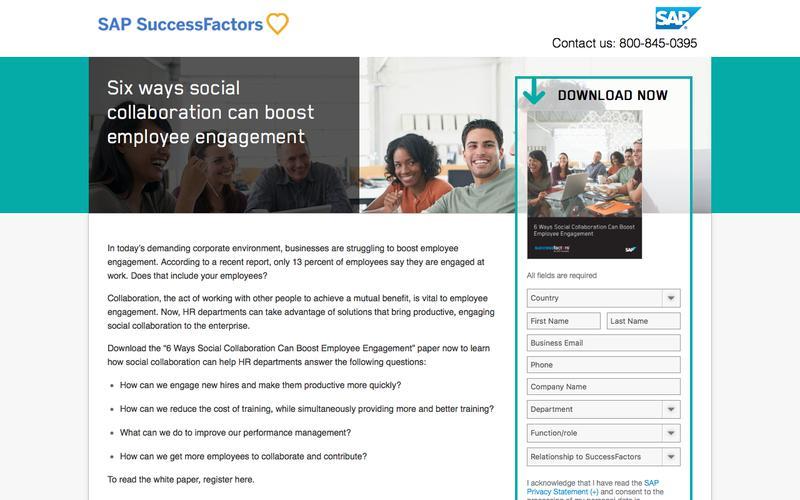 Social Collaboration For Employee Engagement             | SuccessFactors