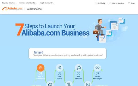7 Steps to Launch Your Alibaba Business