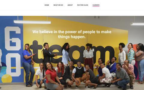 Screenshot of Jobs Page itelbpo.com - Careers - itelbpo.com - captured Sept. 20, 2018