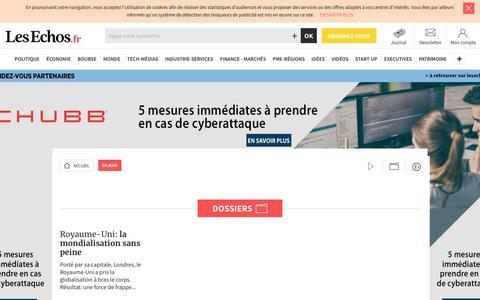 Screenshot of Team Page lesechos.fr - Enjeux Les Echos - Reportage, enquête, business stories - captured Jan. 26, 2018