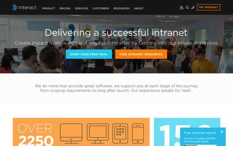 Services | Interact Intranet Software