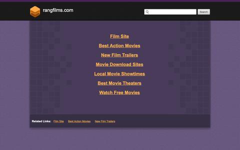 Screenshot of Home Page rangfilms.com - Rangfilms.com - captured Nov. 17, 2018