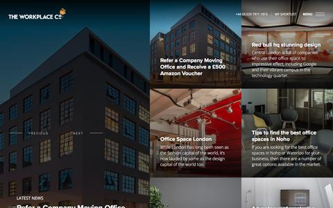 Screenshot of Blog theworkplacecompany.co.uk - Blog - The Workplace Company - captured Sept. 21, 2018