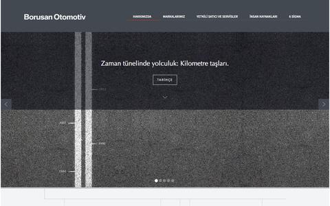 Screenshot of Home Page borusanotomotiv.com - Borusan Otomotiv | Anasayfa - captured Jan. 6, 2016