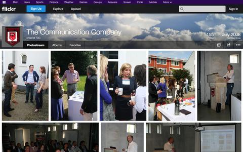 Screenshot of Flickr Page flickr.com - Flickr: channel TCC's Photostream - captured Oct. 22, 2014