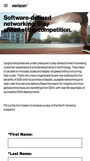 Embracing the disruptive power of software-defined networking: SDN Adoption in North America