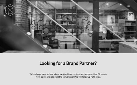 Screenshot of Contact Page wearemotto.com - Motto» Contact » Brand Design Agency - captured Oct. 26, 2014