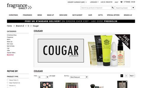 Cougar | Fragrance Direct