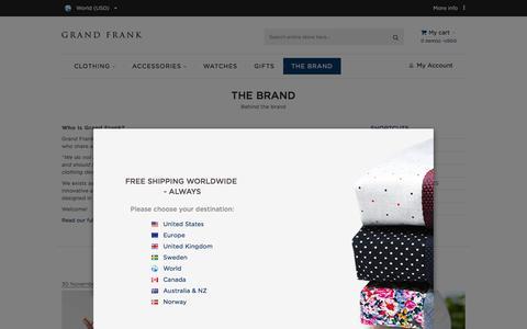 GrandFrank Blog - The Brand
