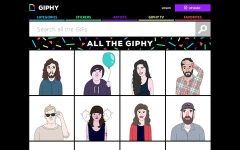Screenshot of Team Page giphy.com - Team - Giphy - captured Dec. 17, 2014