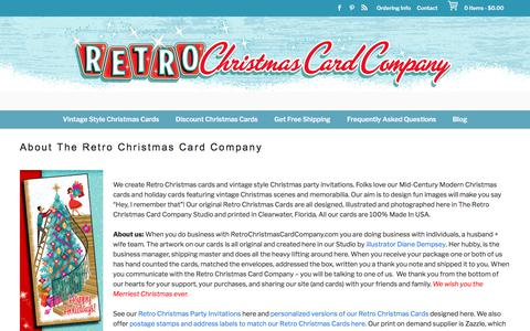 About The Retro Christmas Card Company - Retro Christmas Cards