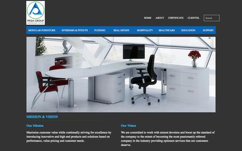 Screenshot of Home Page prismgroup.net.in - prism group - captured Oct. 2, 2014