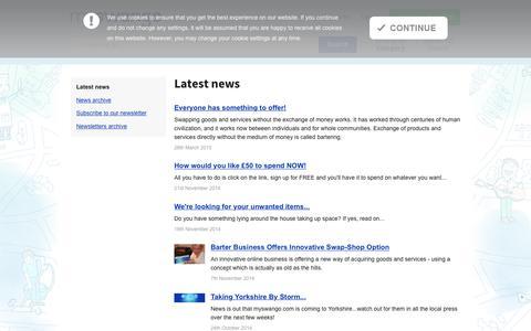 Screenshot of Press Page myswango.com - Latest news | News | myswango | Everyone has something to offer! - captured June 17, 2017
