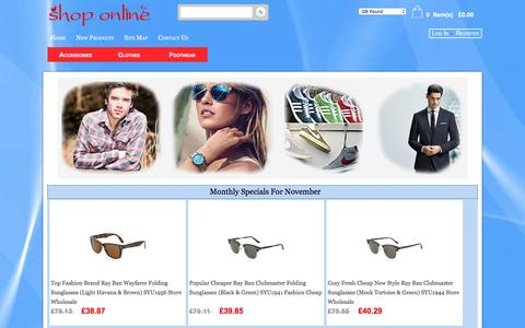 Screenshot of Home Page design-tank.co.uk - Asics Ladies, MBT Discount, New Balance Online Store | www.design-tank.co.uk - captured Nov. 28, 2016