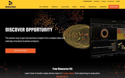 Business Intelligence (BI) Software & Analytics Tools | Sisense