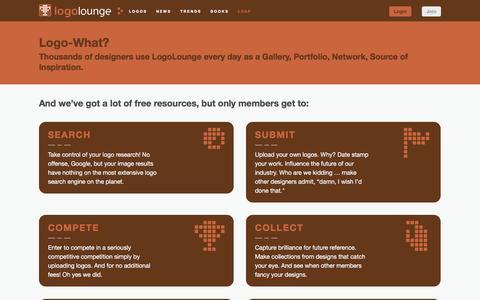Screenshot of Signup Page logolounge.com - Join LogoLounge | LogoLounge - captured Nov. 11, 2016
