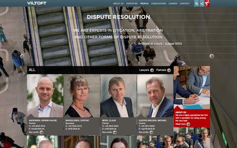 Screenshot of Team Page viltoft.dk - Personer - VILTOFT - captured Oct. 7, 2014